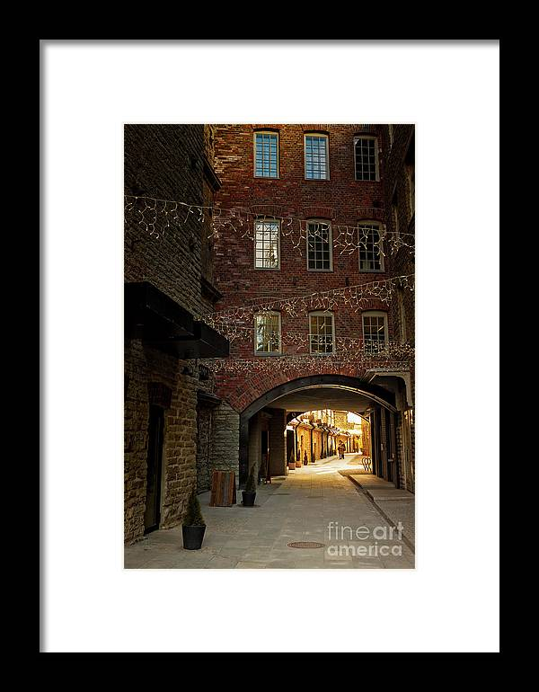 Baltic Countries Framed Print featuring the photograph Gateway At The Rotermann Area by Jukka Heinovirta