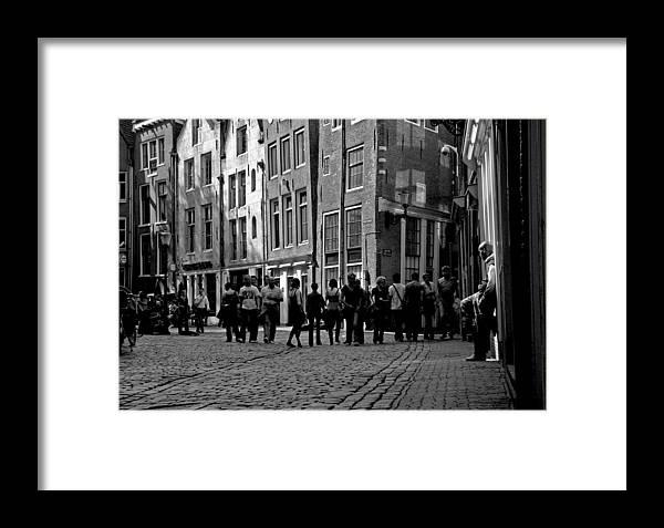 Darren Framed Print featuring the photograph Gaze by Darren Scicluna