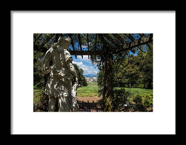 Gazebo Framed Print featuring the photograph Gazebo With A View by Jonathan Hopper