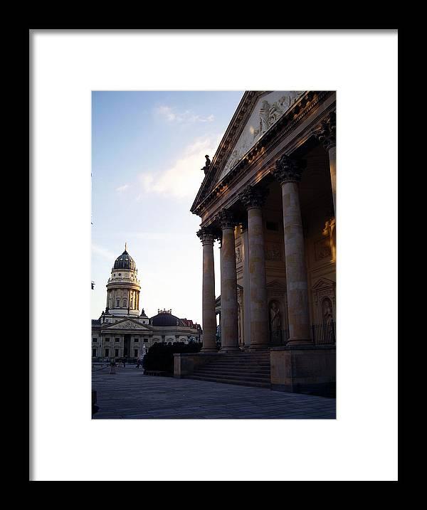 Gendarmenmarkt Framed Print featuring the photograph Gendarmenmarkt by Flavia Westerwelle