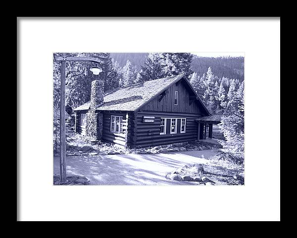 Mt. Rainier Framed Print featuring the photograph General Store by Larry Keahey