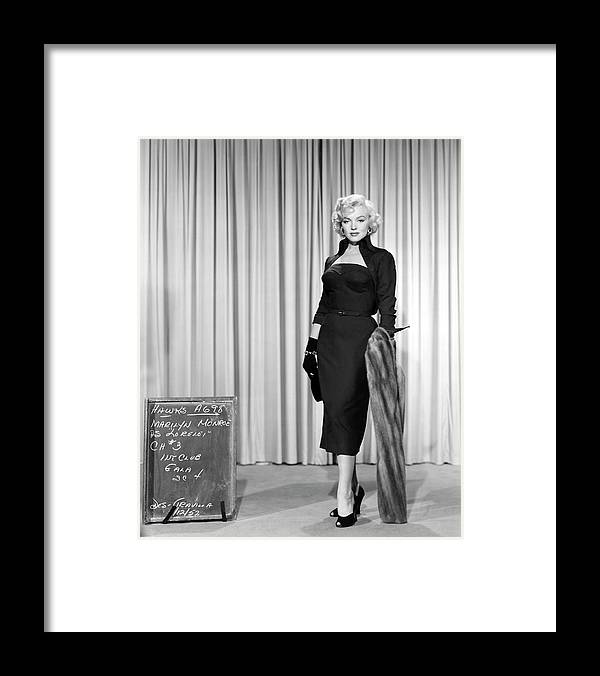 Gentlemen Prefer Blondes Staring Marilyn Monroe Framed Print By Muirhead Gallery