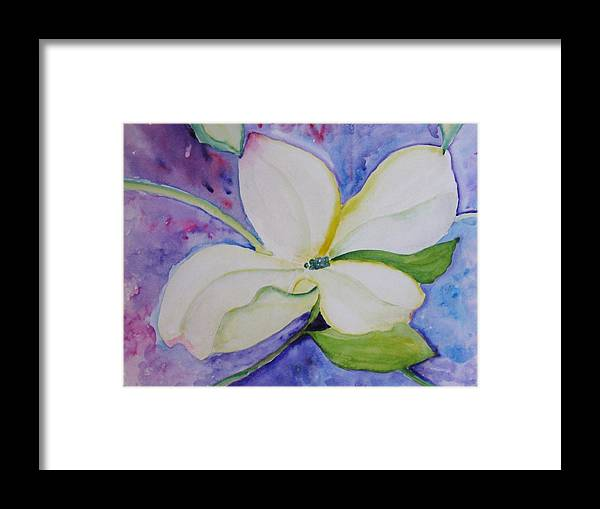 Framed Print featuring the painting Genuine by Trilby Cole