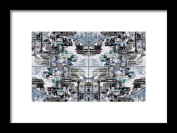 Abstract Framed Print featuring the photograph Geode by Daniel Schubarth