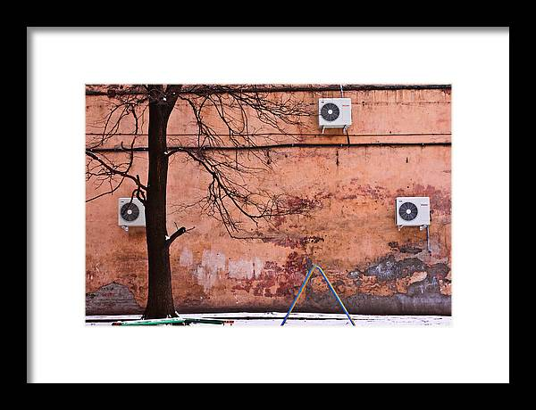 City Framed Print featuring the photograph Geometry by Vadim Grabbe