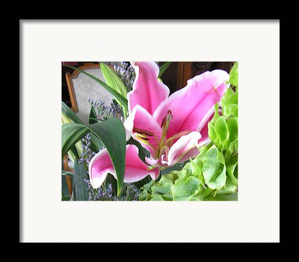 Lily Framed Print featuring the photograph Georgia On My Mind II by Christina Gardner