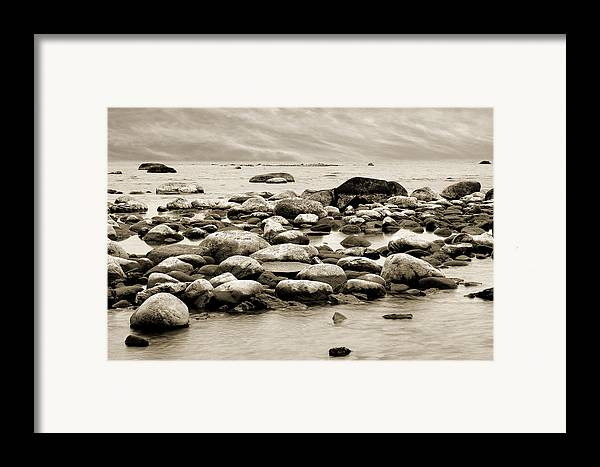 Georgian Bay Framed Print featuring the photograph Georgian Bay by Linda McRae
