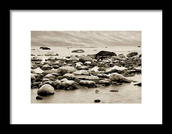 Georgian Bay Framed Print featuring the photograph Georgian Bay by Linda McRae