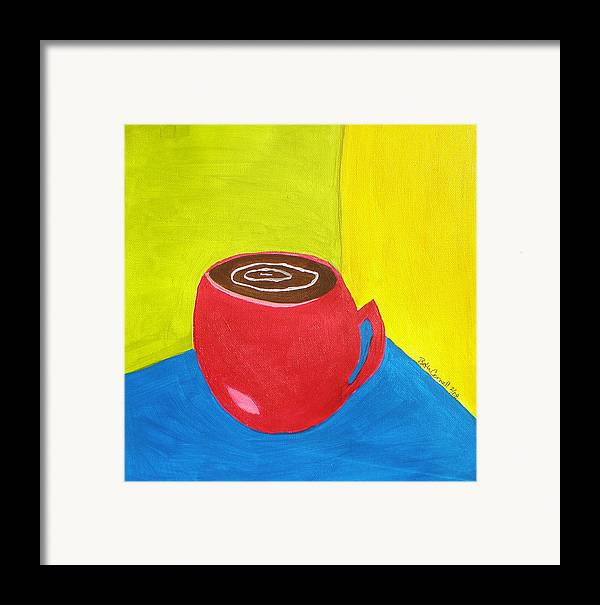 Get Around Framed Print featuring the painting Get Around It by Beth Cornell