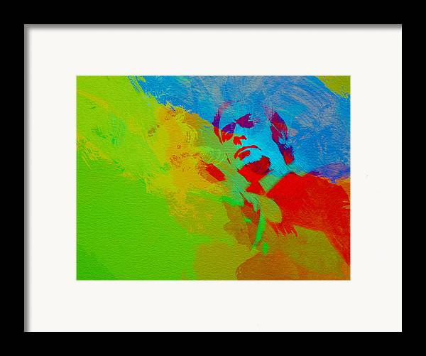 Get Carter Framed Print featuring the painting Get Carter by Naxart Studio