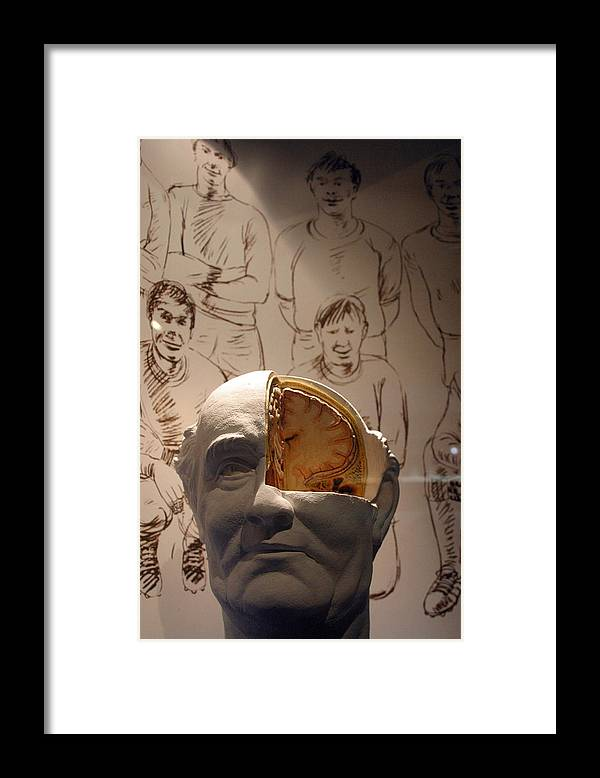 Jez C Self Framed Print featuring the photograph Get Out Of There All Of You by Jez C Self