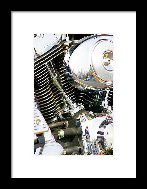 Engine Framed Print featuring the photograph Get Your Motor Running by Christopher Scirto