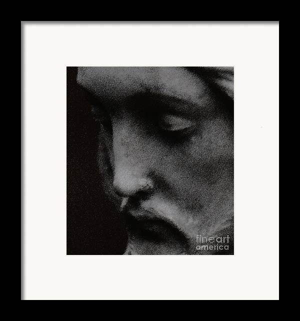 Statuary Framed Print featuring the photograph Gethsemane by Linda Shafer