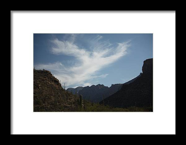 Photography Framed Print featuring the photograph Ghost Cloud by Marsha L Power