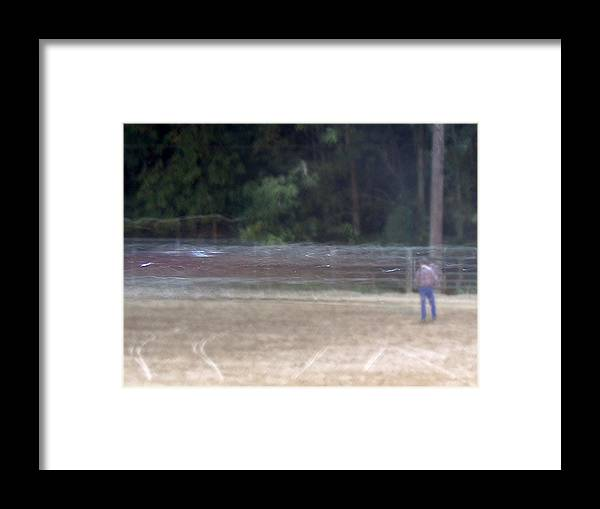 Ghostly Framed Print featuring the photograph Ghost Rodeo by Jacob Stempky