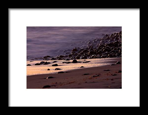 Landscape Framed Print featuring the photograph Ghost Tide by Brad Scott