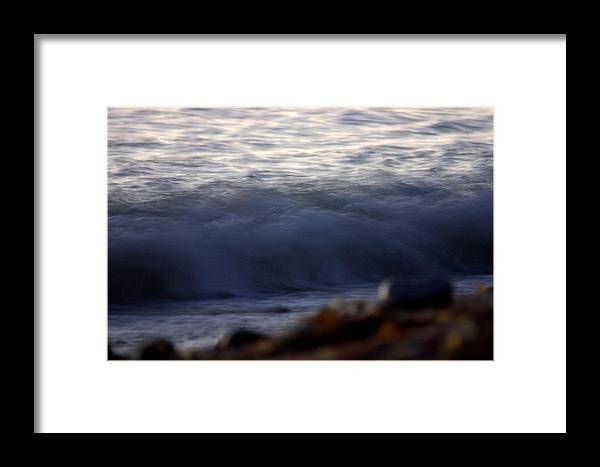 Landscape Framed Print featuring the photograph Ghost Wave by Brad Scott