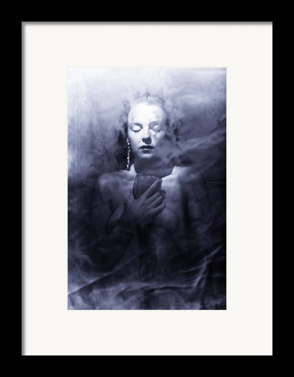 Woman Framed Print featuring the photograph Ghost Woman by Scott Sawyer