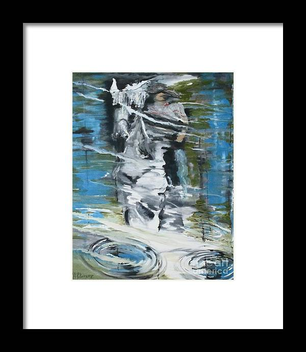 Horse Framed Print featuring the photograph Ghostrider Reflection by Valerie Ann Peterson