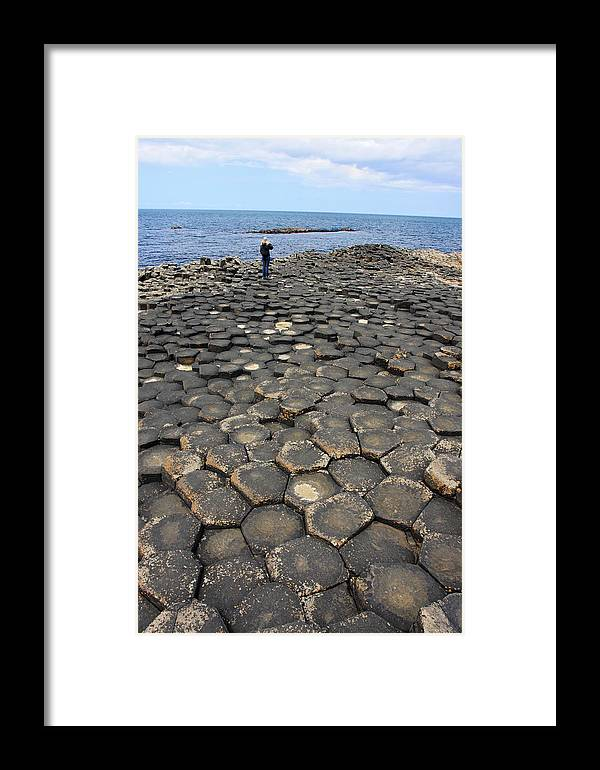 Giant Framed Print featuring the photograph Giant Causeway Northern Ireland by Pierre Leclerc Photography
