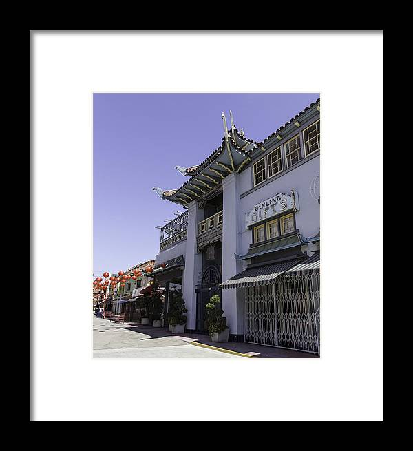 Teresa A Mucha Framed Print featuring the photograph Gifts In Chinatown by Teresa Mucha