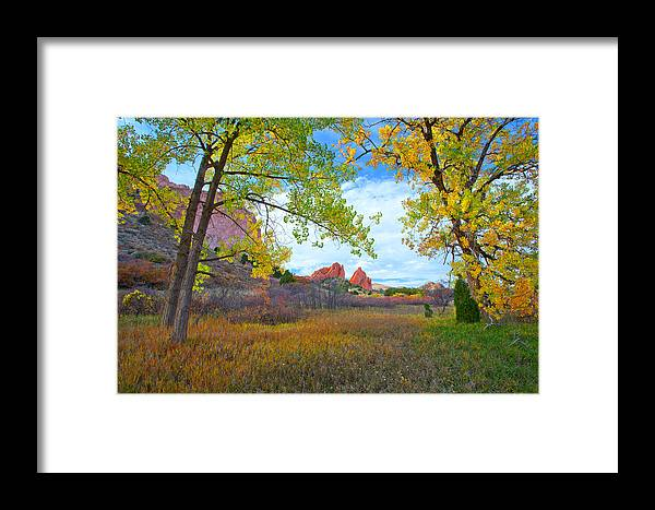 Framed Print featuring the photograph Gifts Of October by Tim Reaves