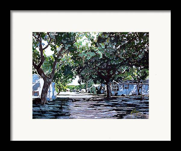 Florida Framed Print featuring the painting Ginny by Jim Phillips