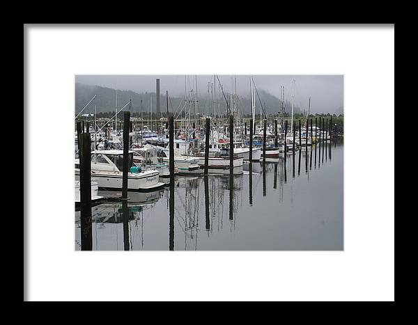 Marina Framed Print featuring the photograph Girabaldi Marina Dm 1005 by Mary Gaines