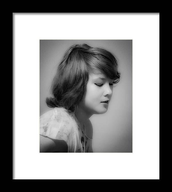 Girl Framed Print featuring the photograph Girl by Steven R Breininger