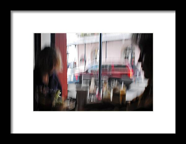 Girls Framed Print featuring the photograph Girls In The Window by Wayne Archer