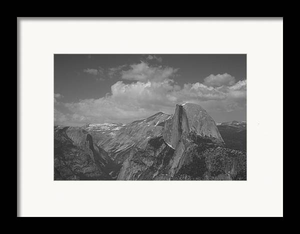 Half Dome Framed Print featuring the photograph Glacier Point by Travis Day