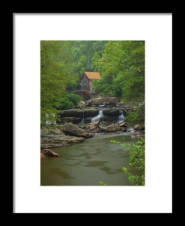 Glade Creek Framed Print featuring the photograph Glade Creek Grist Mill by William Bentley