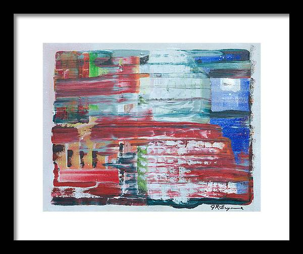 Impressionism Framed Print featuring the painting In A New York Minute by J R Seymour