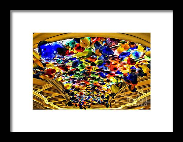 True Framed Print featuring the photograph Glass Flowers by Beauty For God