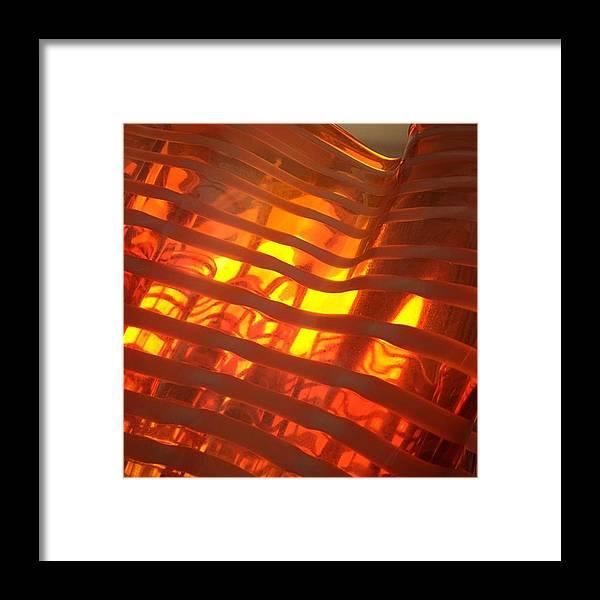 Glass Framed Print featuring the photograph Glass Vase #juansilvaphotos by Juan Silva