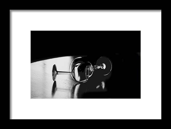 Photography Framed Print featuring the photograph Glass Within Glass by Tom Fant