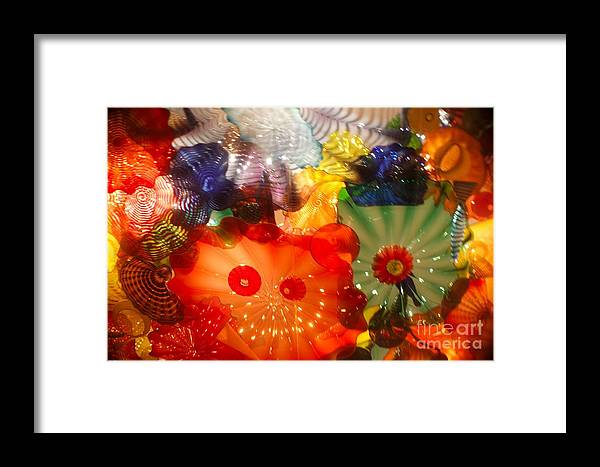Framed Print featuring the photograph Glazed In Glass by Biz Bzar