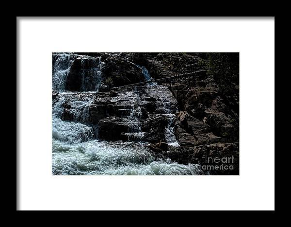 California Framed Print featuring the photograph Glen Alpine Falls 8 by Joe Lach