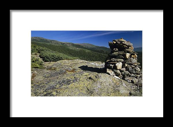 Alpine Zone Framed Print featuring the photograph Glen Boulder Trail - White Mountains New Hampshire Usa by Erin Paul Donovan