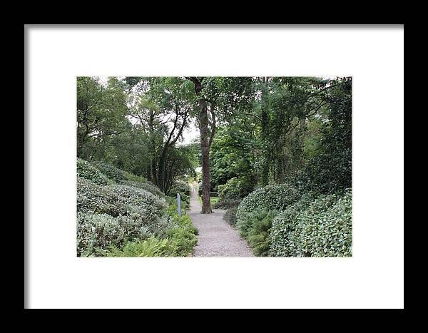 Glenveagh Castle Framed Print featuring the photograph Glenveagh Castle Gardens 4305 by John Moyer