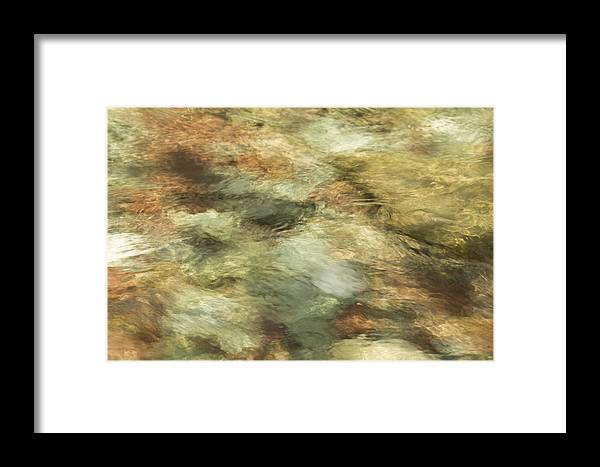 Abstract Framed Print featuring the photograph Glimmer by Elizabeth Eldridge