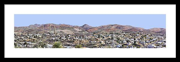 Photography Framed Print featuring the photograph Globe Panorama by Sharon Broucek
