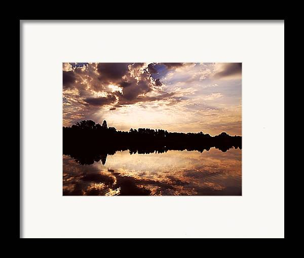 Sunrise Framed Print featuring the photograph Glorious Moments by Gaby Swanson