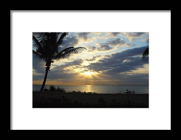 Sunrise Framed Print featuring the photograph Glorious Morning by Peggy King