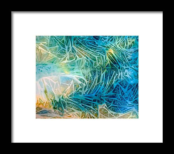Abstract Framed Print featuring the painting Glorious Triumph - B - by Sandy Sandy