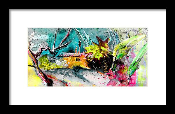 Pastel Painting Framed Print featuring the painting Glory of Nature by Miki De Goodaboom