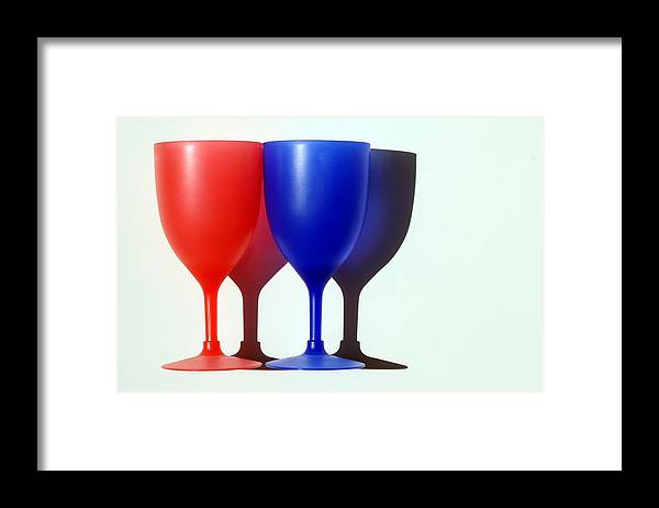 Photo Framed Print featuring the photograph Goblets by Dan Holm