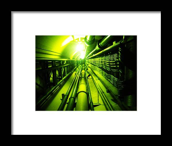 Abstract Framed Print featuring the photograph Going Up by Norman Kraatz