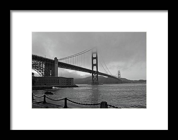 Golden Gate Bridge Framed Print featuring the photograph Golden Gate Bridge by Roy Hall