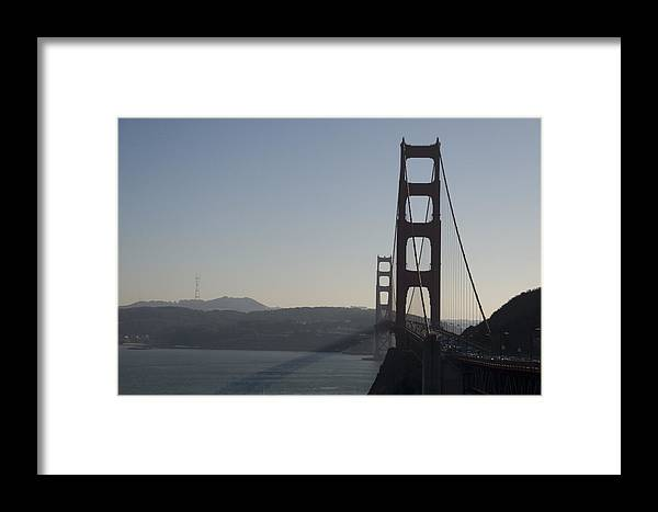 Bridge Framed Print featuring the photograph Golden Gate Bridge by Wes Shinn